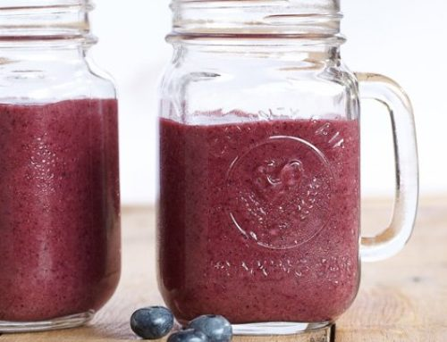 Revitalizing Berry Shake